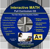 Our Math for 2013-14: A+ TutorSoft