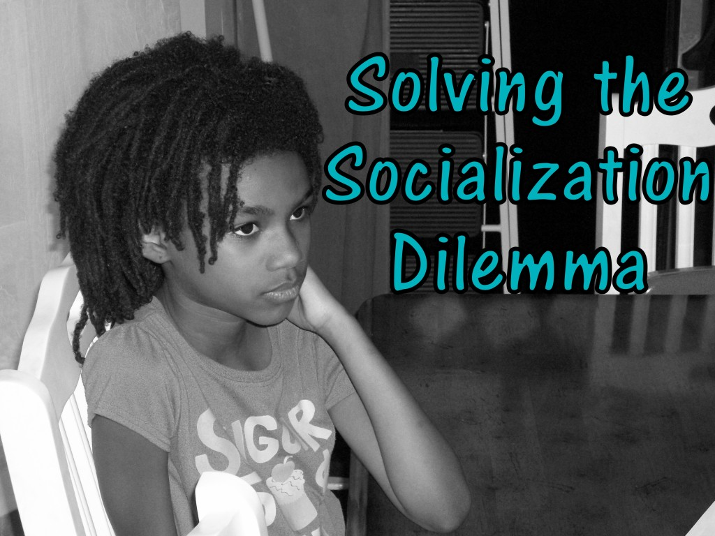 Solving the Socialization Dilemma: Look! We're Learning!